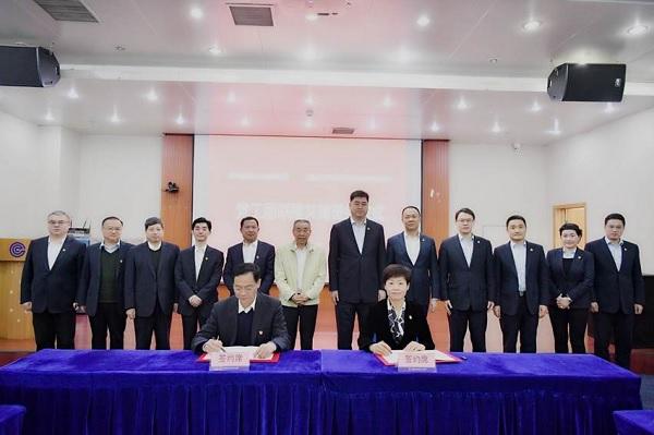 浦发银行郑州分行与郑州粮食批发市场举行党工团联建共建暨战略合作签约仪式